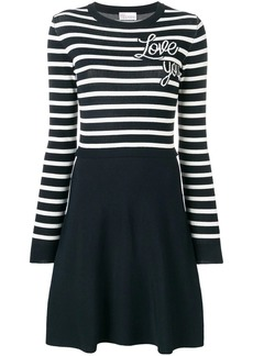 RED Valentino knitted love you dress