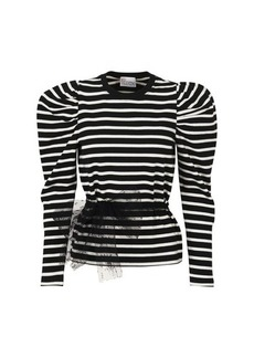 RED Valentino Long Sleeves Jersey Top