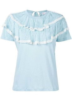 RED Valentino loose ruffled blouse