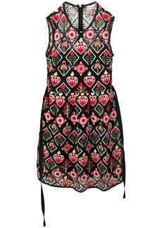 RED Valentino Love Celebration embroidered dress