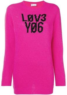 RED Valentino love intarsia jumper