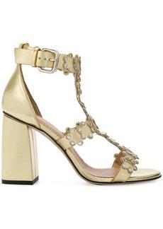 RED Valentino RED(V) ankle strap sandals