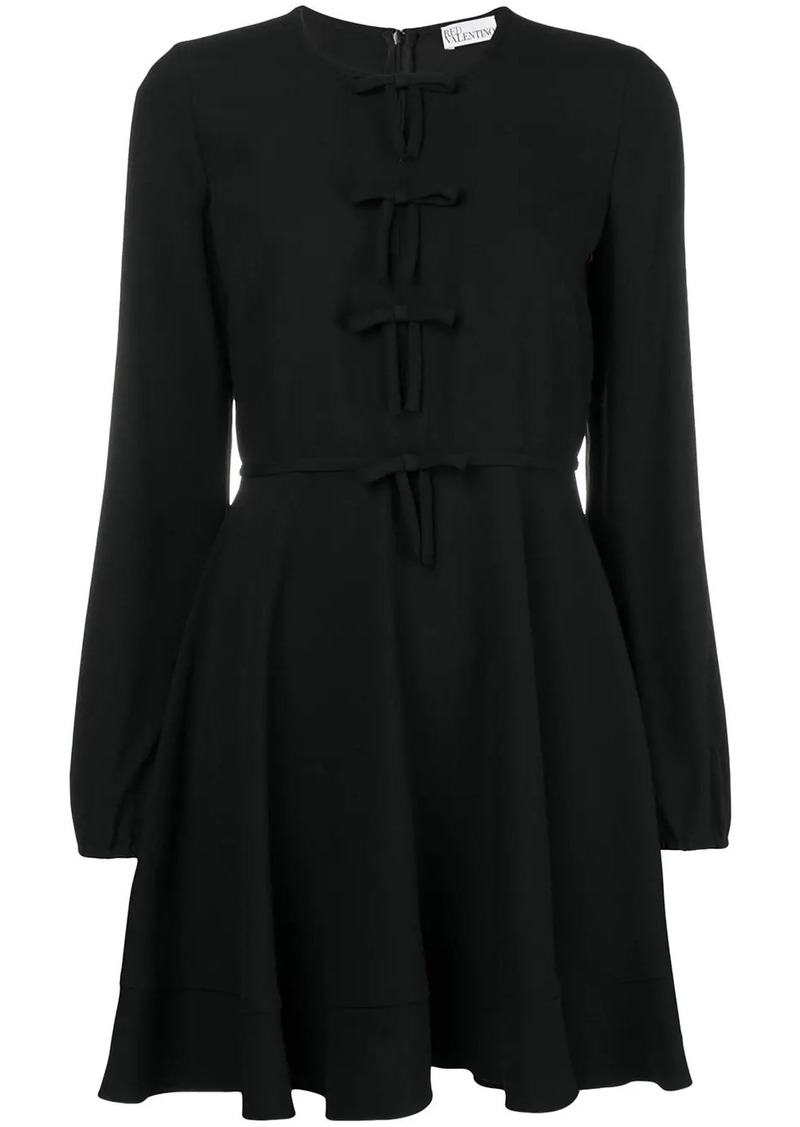 RED Valentino multiple front tie dress