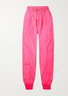 RED Valentino Neon Taffeta Track Pants