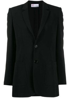 RED Valentino notched lapels single-breasted blazer