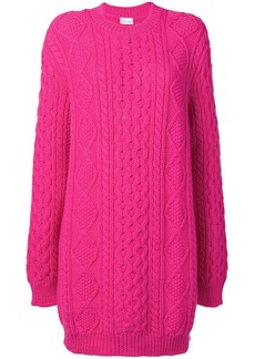RED Valentino oversized knitted dress