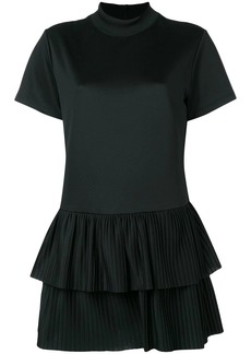 RED Valentino pleated hem dress