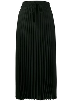 RED Valentino pleated mid-length skirt