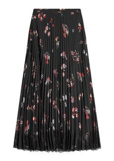 RED Valentino Printed Maxi Skirt