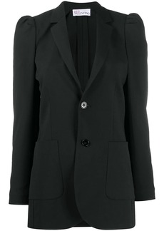 RED Valentino puff-shoulder fitted jacket