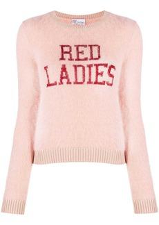 RED Valentino Red Ladies sweater