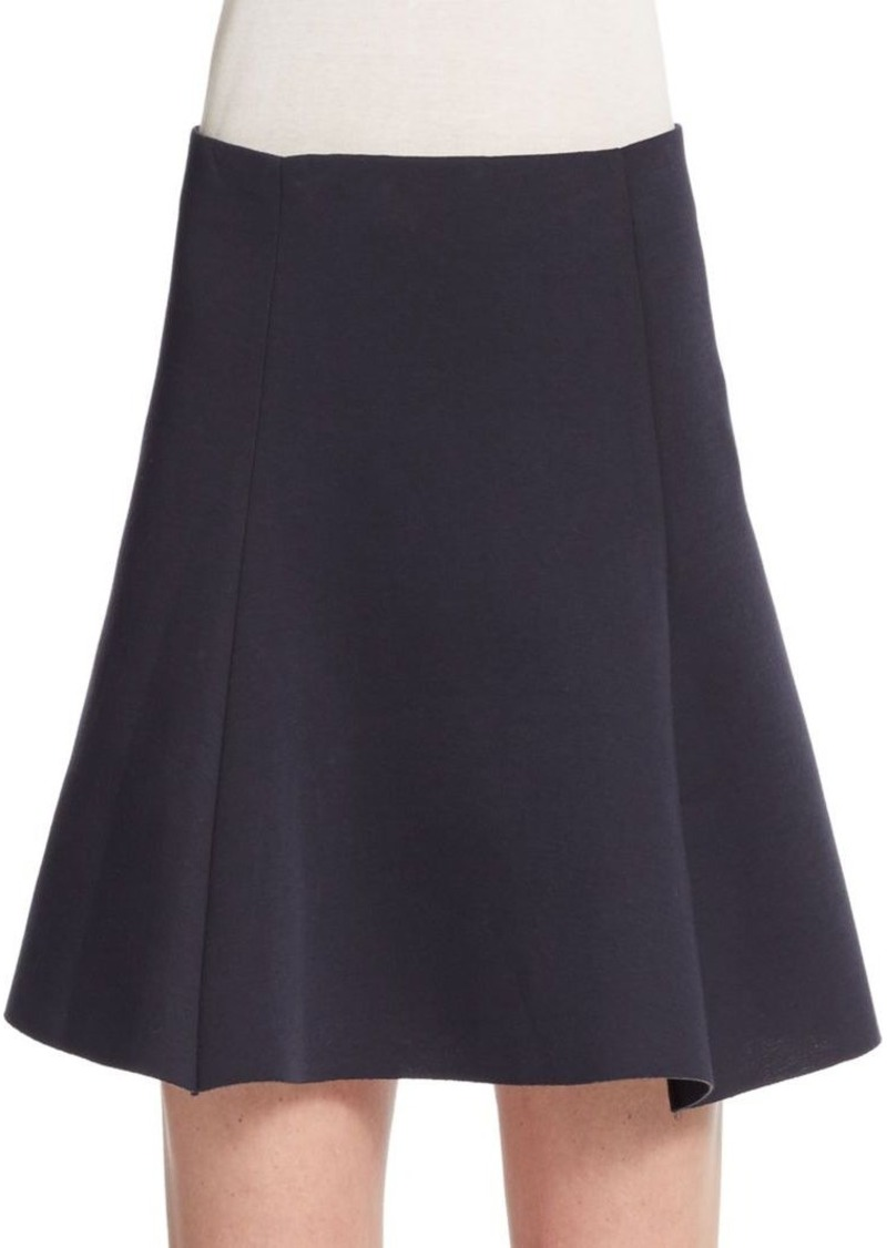 RED Valentino A-Lined Scuba Skirt