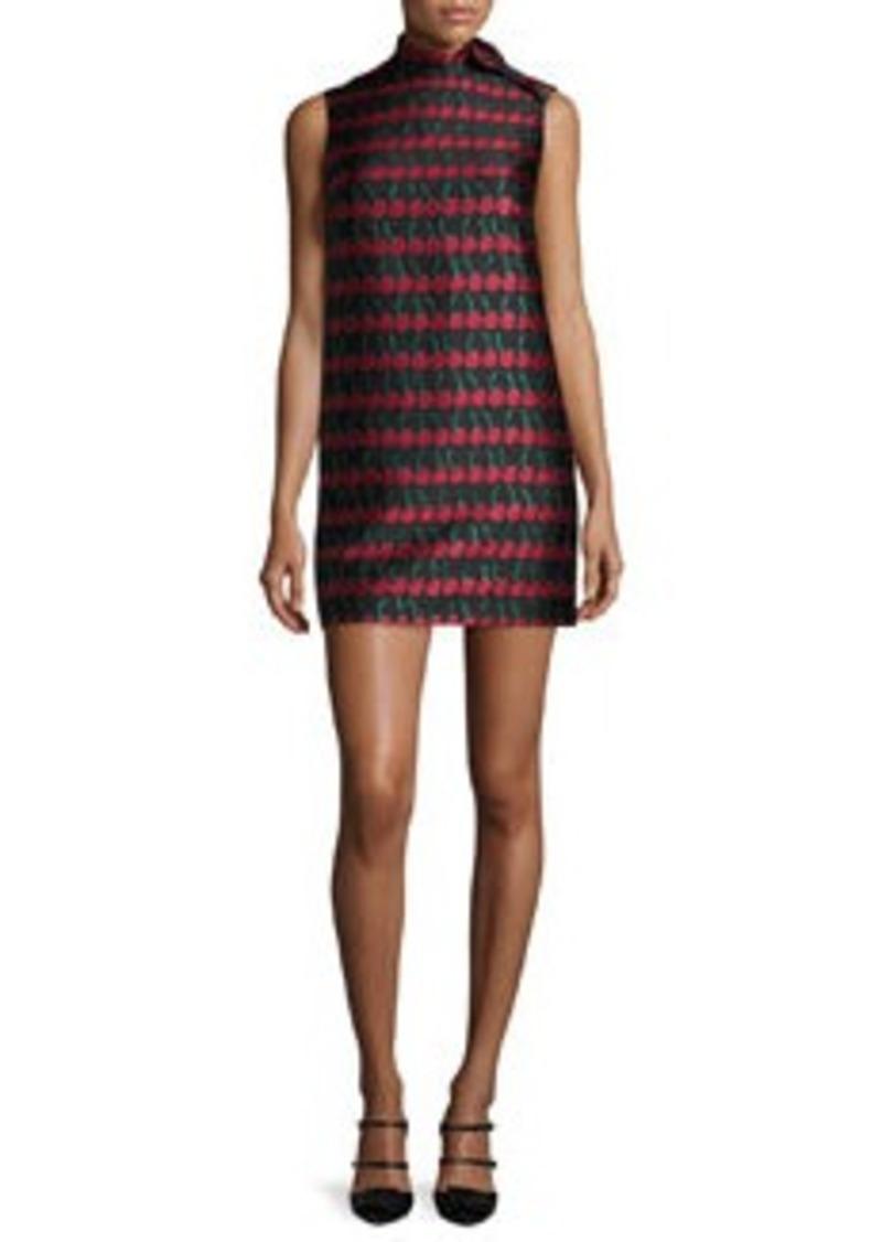 RED Valentino Sleeveless Cherry-Print Shift Dress