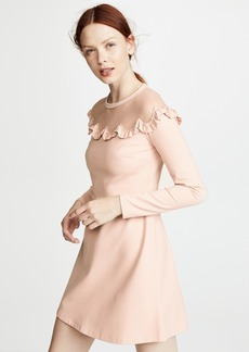RED Valentino Bib Neck Dress