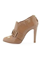 RED Valentino Bow-Front Patent 105mm Bootie