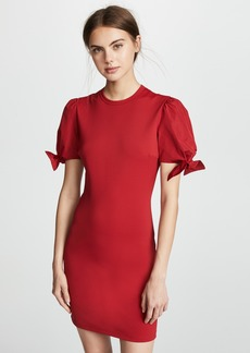 RED Valentino Bow Sleeve Detail Dress