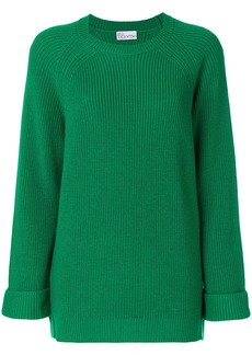 Red Valentino chunky knit jumper - Green