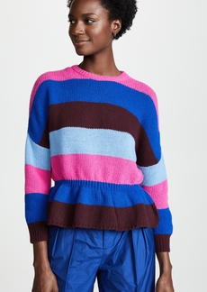 RED Valentino Cinched Waist Sweater