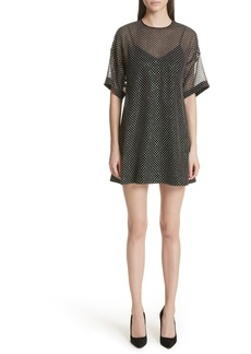 RED Valentino Creponne T-Shirt Dress