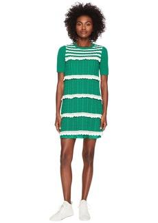 RED Valentino Crochet Knit Dress