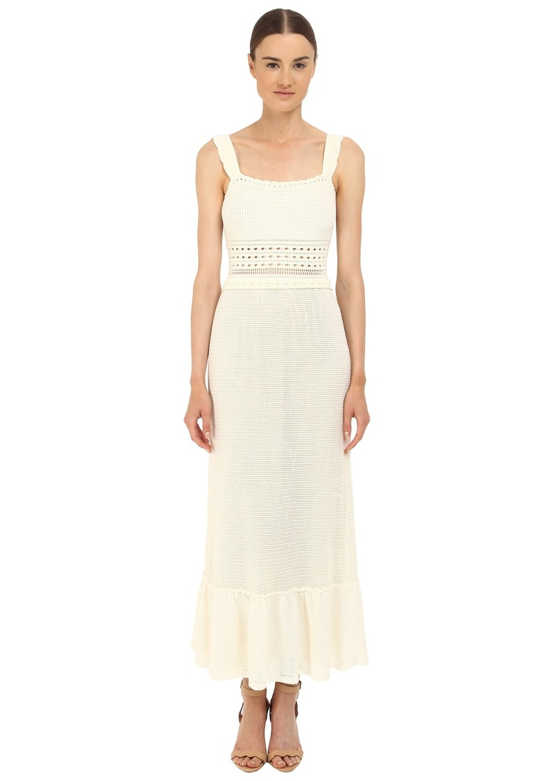 RED VALENTINO Crochet Maxi Dress