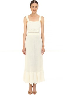 RED VALENTINO Crochet Maxi Dress