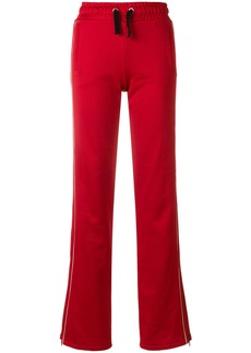 Red Valentino drawstring track pants