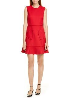 RED Valentino Heart Pocket Minidress