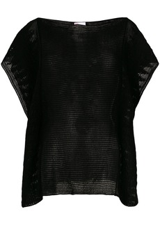 Red Valentino knit top - Black