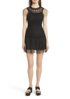 RED Valentino Point d'Esprit Dress