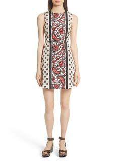RED Valentino Print A-Line Dress