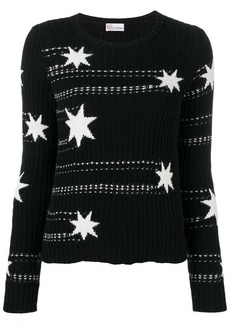 RED Valentino star intarsia jumper