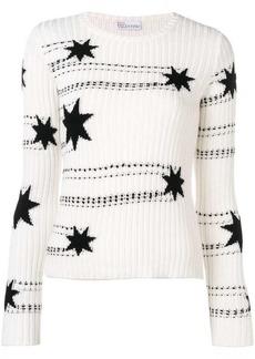 RED Valentino star intarsia jumper