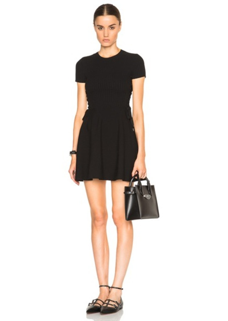 Red Valentino Stretch Knit Dress