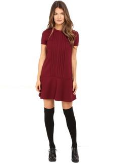 RED VALENTINO Tech Ponte Jersey Dress