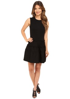 RED VALENTINO Tech Ponte Jersey Dress
