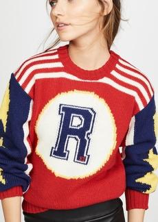 RED Valentino Vintage Striped Pullover
