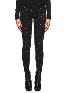 RED Valentino Women's Star-Graphic Cotton Leggings