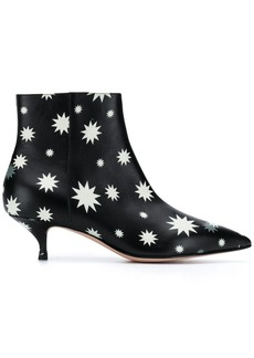 RED Valentino RED(V) star print ankle boots