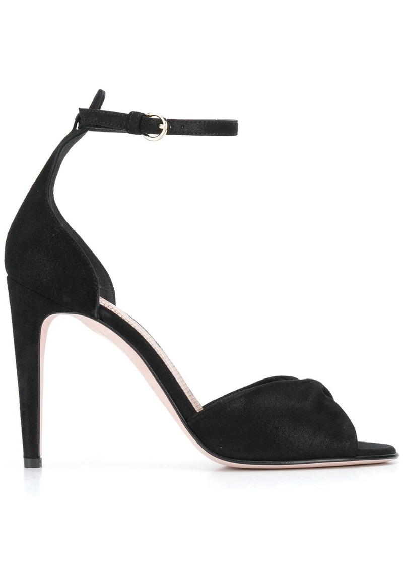 RED Valentino RED(V) twisted strap sandals