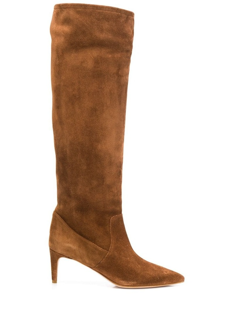 RED Valentino RED(V) under-the-knee slip-on boots