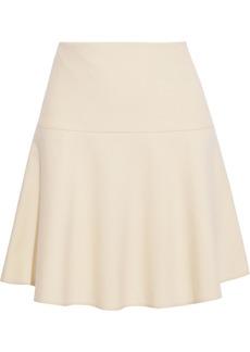 RED Valentino Redvalentino Woman Canvas Mini Skirt Cream