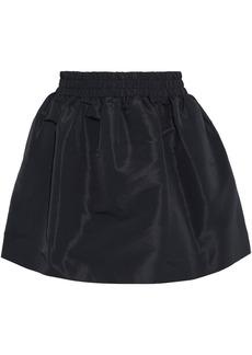 RED Valentino Redvalentino Woman Flared Taffeta Mini Skirt Black