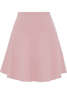 RED Valentino Redvalentino Woman Fluted Crepe Mini Skirt Blush
