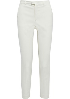 RED Valentino Redvalentino Woman Twill Slim-leg Pants Ivory