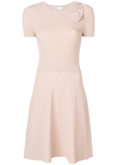 RED Valentino ribbed knit A-line dress