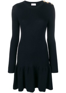 RED Valentino ribbed knit dress