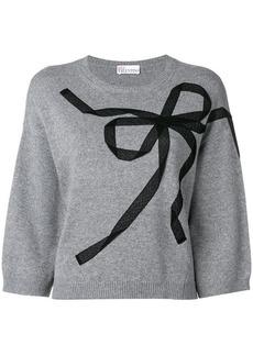RED Valentino ribbon detail jumper