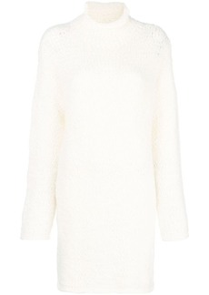 RED Valentino roll neck sweater dress