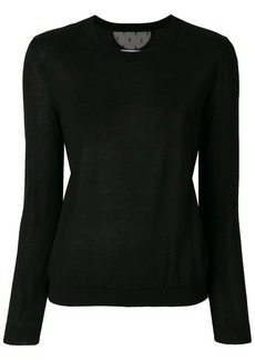 RED Valentino round neck jumper
